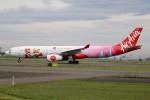 北の熊さんが、新千歳空港で撮影したタイ・エアアジア・エックス A330-343Xの航空フォト(写真)
