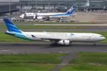 masa707さんが、羽田空港で撮影したガルーダ・インドネシア航空 A330-343Xの航空フォト(写真)