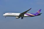 よしぱるさんが、成田国際空港で撮影したタイ国際航空 A350-941XWBの航空フォト(写真)