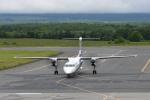 ワイエスさんが、中標津空港で撮影したANAウイングス DHC-8-402Q Dash 8の航空フォト(写真)