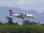 tmkさんが、ダニエル・K・イノウエ国際空港で撮影したオハナ・バイ・ハワイアン ATR-42-500の航空フォト(写真)