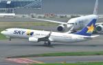 Dojalanaさんが、羽田空港で撮影したスカイマーク 737-8HXの航空フォト(写真)
