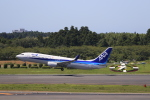 ☆ライダーさんが、成田国際空港で撮影した全日空 737-881の航空フォト(写真)