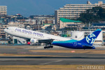 遠森一郎さんが、福岡空港で撮影したアジア・アトランティック・エアラインズ 767-383/ERの航空フォト(写真)