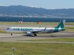 からすさんが、関西国際空港で撮影したエアソウル A321-231の航空フォト(写真)