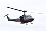 hirohiro77さんが、旭川駐屯地で撮影した陸上自衛隊 UH-1Jの航空フォト(写真)