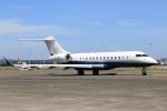 スポット110さんが、羽田空港で撮影したTAG エイビエーション・アジア BD-700-1A11 Global 5000の航空フォト(写真)