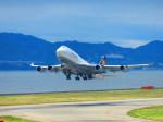 ひとつぼし / 航空YouTuberさんが、関西国際空港で撮影したルフトハンザドイツ航空 747-430の航空フォト(飛行機 写真・画像)