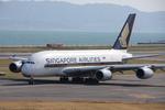 WING_ACEさんが、関西国際空港で撮影したシンガポール航空 A380-841の航空フォト(飛行機 写真・画像)