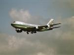 エルさんが、成田国際空港で撮影したエバーグリーン航空 747-121(A/SF)の航空フォト(写真)