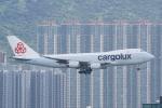 HEATHROWさんが、香港国際空港で撮影したカーゴルクス 747-467F/SCDの航空フォト(写真)