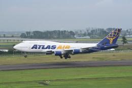 kumagorouさんが、仙台空港で撮影したアトラス航空 747-446の航空フォト(写真)