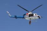 go44さんが、愛知県 津島市 東公園で撮影した愛知県防災航空隊 412EPIの航空フォト(写真)
