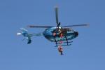go44さんが、愛知県 津島市 東公園で撮影した愛知県警察 BK117C-2の航空フォト(写真)