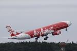 とらとらさんが、成田国際空港で撮影したインドネシア・エアアジア・エックス A330-343Xの航空フォト(飛行機 写真・画像)