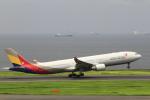とらとらさんが、羽田空港で撮影したアシアナ航空 A330-323Xの航空フォト(飛行機 写真・画像)