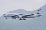 HEATHROWさんが、香港国際空港で撮影したエル・アル航空 777-258/ERの航空フォト(写真)