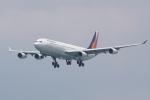 HEATHROWさんが、香港国際空港で撮影したフィリピン航空 A340-313Xの航空フォト(写真)