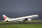 とらとらさんが、羽田空港で撮影した中国国際航空 A330-343Xの航空フォト(飛行機 写真・画像)