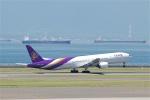 goshiさんが、中部国際空港で撮影したタイ国際航空 777-3D7の航空フォト(写真)