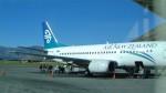 westtowerさんが、クイーンズタウン空港で撮影したニュージーランド航空 737-3U3の航空フォト(写真)
