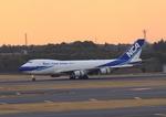 ふじいあきらさんが、成田国際空港で撮影した日本貨物航空 747-4KZF/SCDの航空フォト(飛行機 写真・画像)