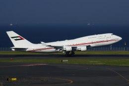 ぶらうさんが、羽田空港で撮影したドバイ・ロイヤル・エア・ウィング 747-422の航空フォト(飛行機 写真・画像)