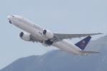 HEATHROWさんが、香港国際空港で撮影したサウディア 777-FFGの航空フォト(写真)