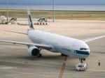 さんぜんさんが、中部国際空港で撮影したキャセイパシフィック航空 777-367の航空フォト(飛行機 写真・画像)