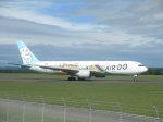 taka100さんが、女満別空港で撮影したAIR DO 767-381の航空フォト(写真)