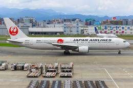 まくろすさんが、福岡空港で撮影した日本航空 767-346/ERの航空フォト(飛行機 写真・画像)