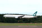 funi9280さんが、新千歳空港で撮影したキャセイパシフィック航空 777-367の航空フォト(飛行機 写真・画像)