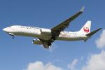 D-AWTRさんが、福岡空港で撮影した日本トランスオーシャン航空 737-8Q3の航空フォト(写真)