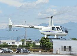 パンサーRP21さんが、群馬ヘリポートで撮影したローゼン航空 R44の航空フォト(飛行機 写真・画像)