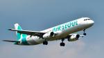 パンダさんが、成田国際空港で撮影したエアソウル A321-231の航空フォト(飛行機 写真・画像)