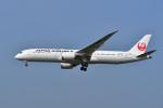よしぱるさんが、成田国際空港で撮影した日本航空 787-9の航空フォト(写真)