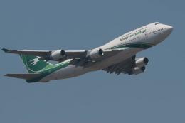 turt@かめちゃんさんが、クアラルンプール国際空港で撮影したイラク航空 747-446の航空フォト(写真)