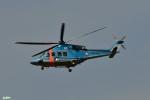 妄想竹さんが、成田国際空港で撮影した千葉県警察 AW139の航空フォト(写真)