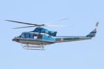 なごやんさんが、名古屋飛行場で撮影した愛知県警察 412EPの航空フォト(写真)