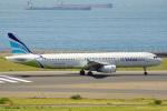 ちゃぽんさんが、中部国際空港で撮影したエアプサン A321-231の航空フォト(飛行機 写真・画像)