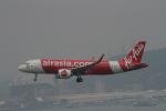 AXT747HNDさんが、香港国際空港で撮影したエアアジア A320-251Nの航空フォト(写真)
