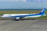 いおりさんが、山口宇部空港で撮影した全日空 A321-211の航空フォト(写真)