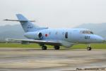 いおりさんが、防府北基地で撮影した航空自衛隊 U-125A(Hawker 800)の航空フォト(写真)
