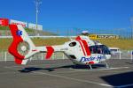 ちゃぽんさんが、鈴鹿サーキットで撮影した中日本航空 EC135P2の航空フォト(飛行機 写真・画像)