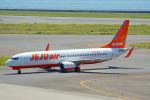 ちゃぽんさんが、中部国際空港で撮影したチェジュ航空 737-8ASの航空フォト(飛行機 写真・画像)