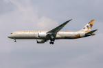 xingyeさんが、ワシントン・ダレス国際空港で撮影したエティハド航空 787-9の航空フォト(写真)