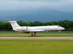 comdigimaniaさんが、函館空港で撮影したウェルズ・ファーゴ・バンク・ノースウェスト G-V-SP Gulfstream G550 Eitamの航空フォト(写真)
