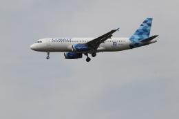 さんみさんが、ロンドン・ヒースロー空港で撮影したコバルト・エア A320-232の航空フォト(飛行機 写真・画像)