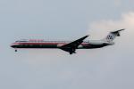 xingyeさんが、ワシントン・ダレス国際空港で撮影したアメリカン航空 MD-82 (DC-9-82)の航空フォト(写真)