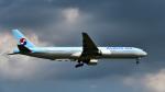 パンダさんが、成田国際空港で撮影した大韓航空 777-3B5の航空フォト(写真)